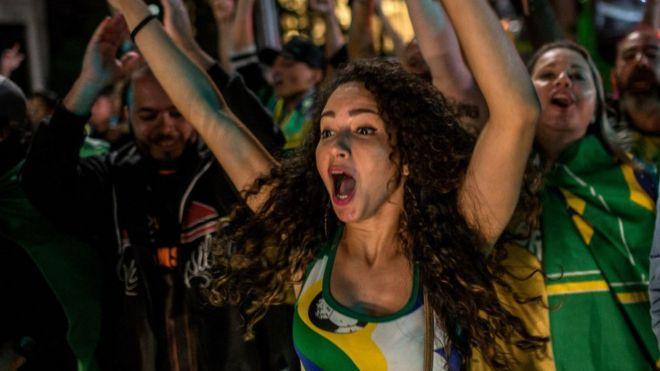 Người ủng hộ Bolsonaro