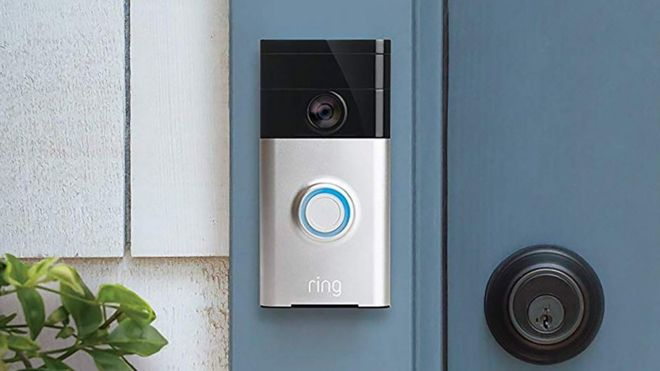 Amazon Ring doorbell camera device