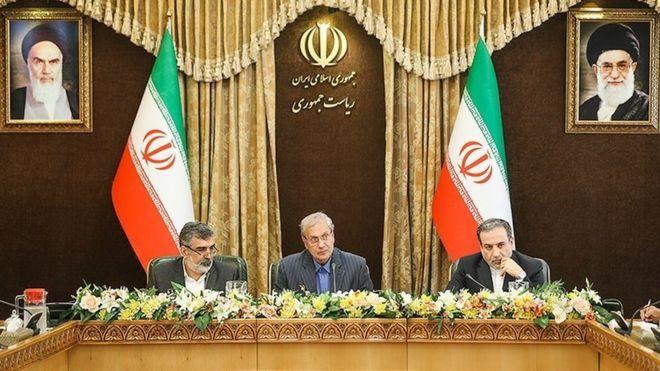 نشست خبری گام دوم ایران در برجام