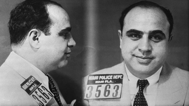 Caneca de Al Capone