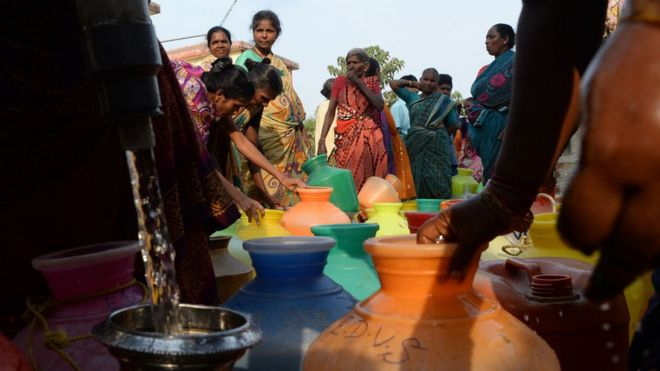 Chennai water: How India's sixth biggest city is coping with