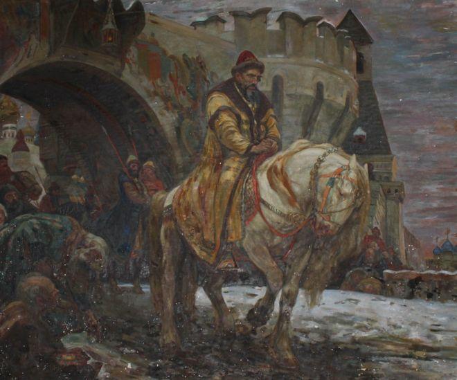 В Украину возвращается украденная нацистами картина с Иваном Грозным 01