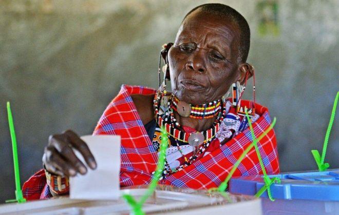 Mpiga kura nchini Kenya
