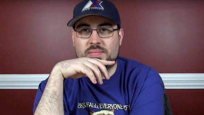 239fb6ebc1 YouTube star John  TotalBiscuit  Bain dies aged 33 - BBC News