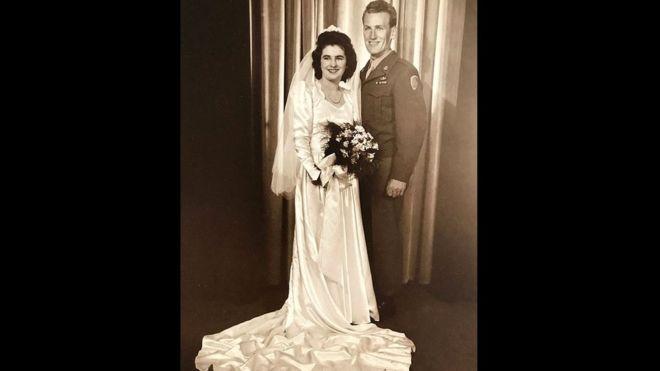 Мэри и Юджин (Джин) Банигэн поженились 29 августа 1945 года