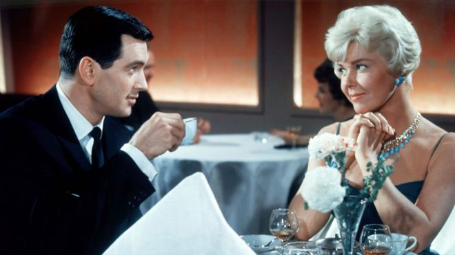 Doris Day with Rock Hudson in Pillow Talk