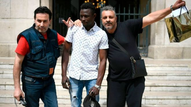 Image result for PHOTOS OF Mamoudou Gassama