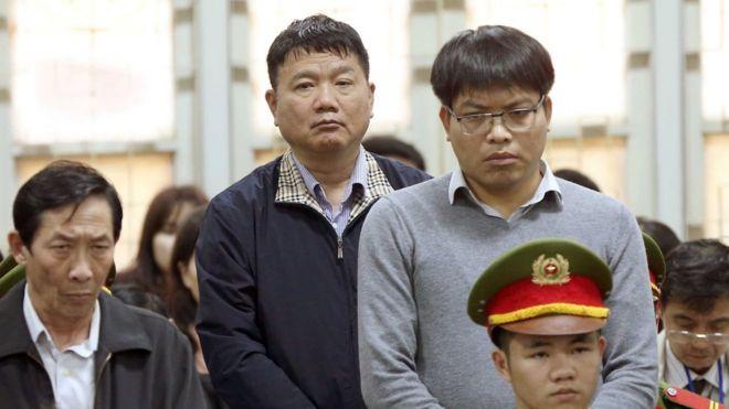 Phiên tòa sơ thẩm xử ông Đinh La Thăng và đồng phạm diễn ra từ ngày 8- 22/1.