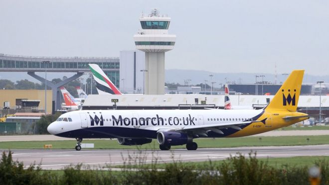 Britain's Monarch Airlines Ceases Operations