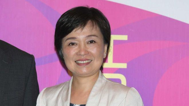 蔡若蓮透過教育局表示感謝各界關心。