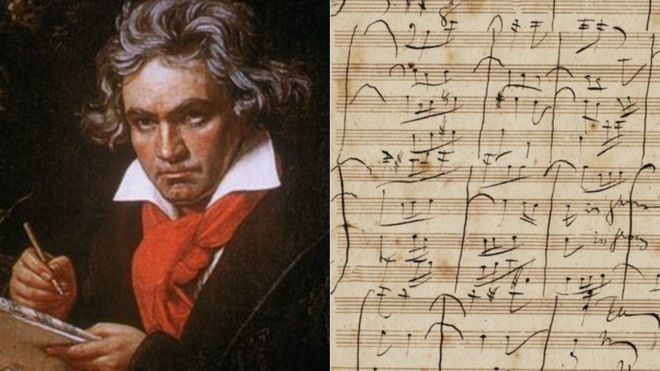 Beethoven' musical score row between Sotheby's and expert - BBC News