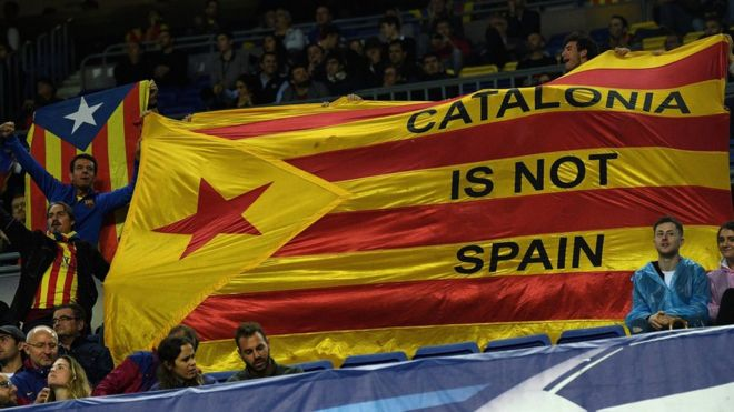 スペイン政府、カタルーニャ州の...