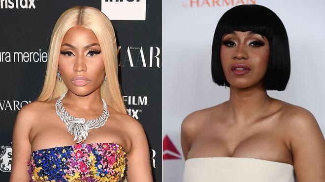 Nicki Minaj Mortified By Cardi B Scuffle Bbc News