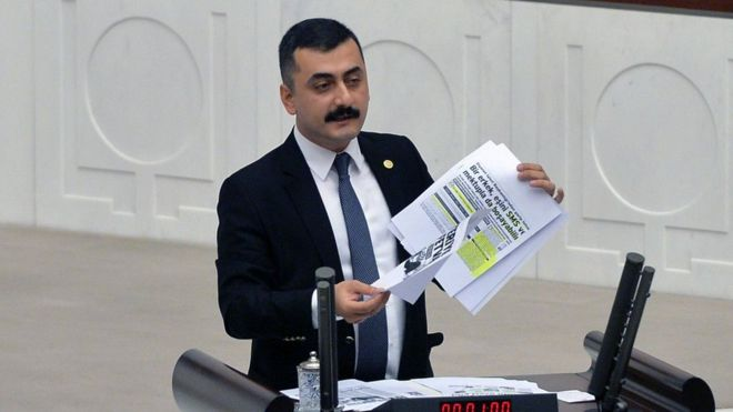 Turkey arrests former opposition MP on terrorism charges