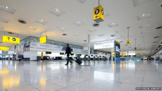 Heathrow terminal 3 to terminal 5 international dating