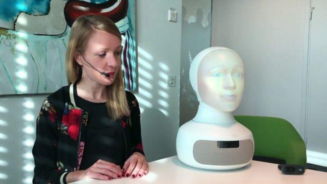 هل ستشعر بارتياح في مقابلة وظيفية مع جهاز روبوت؟