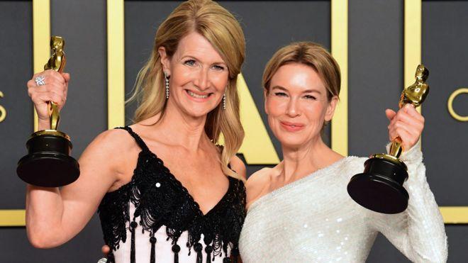 Laura Dern and Renee Zellweger