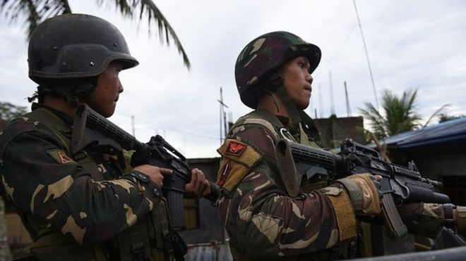 philippines soldiers killed in friendly fire air strike in marawi