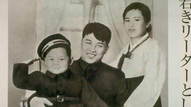 김일성 가족사진