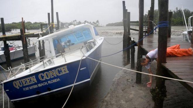 Barco em Tampa, Flórida