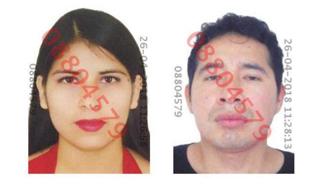 Eyvi Ágreda y Carlos Hualpa