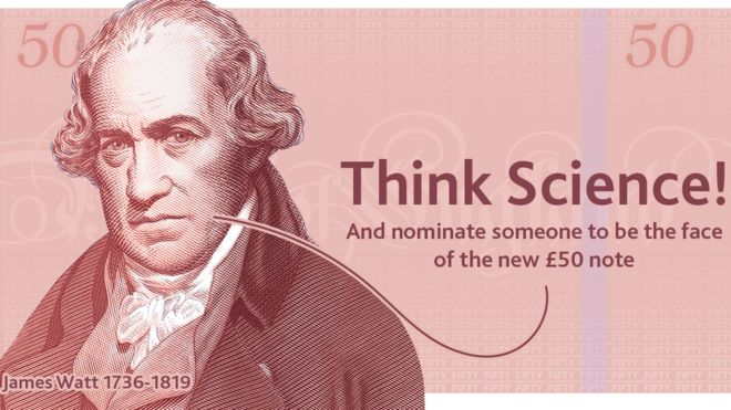 New £50 note will feature a British scientist - BBC News