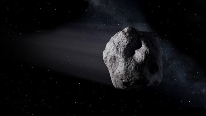 interstellar asteroid is given a name bbc news