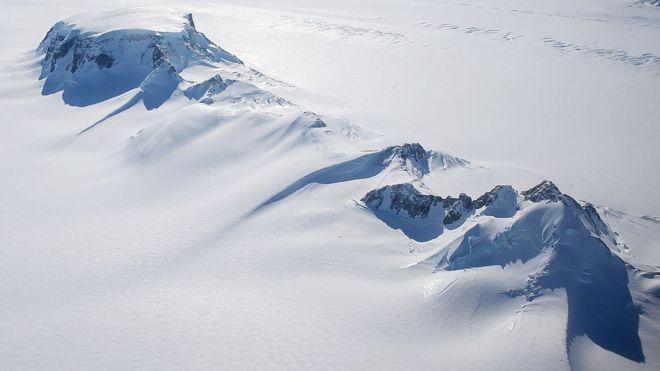 temperaturas do lugar mais frio do planeta são ainda mais baixas do
