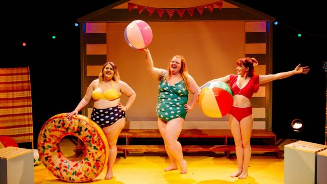 Why Body Image Is A Weighty Issue At The Fringe Bbc News