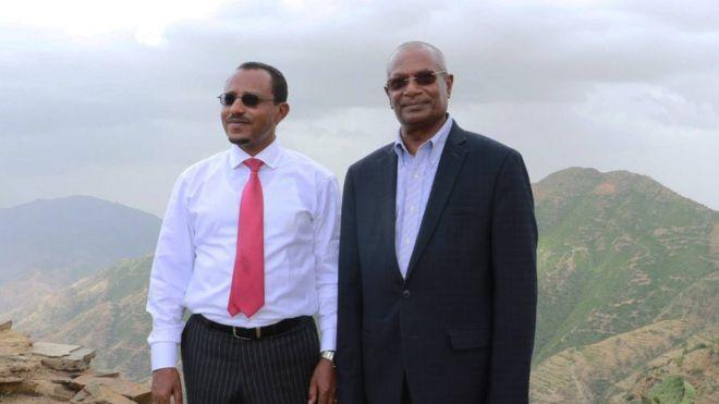 Obbo Lammaa Magarsaafi Obbo Daawud Ibsaa, Asmaraa