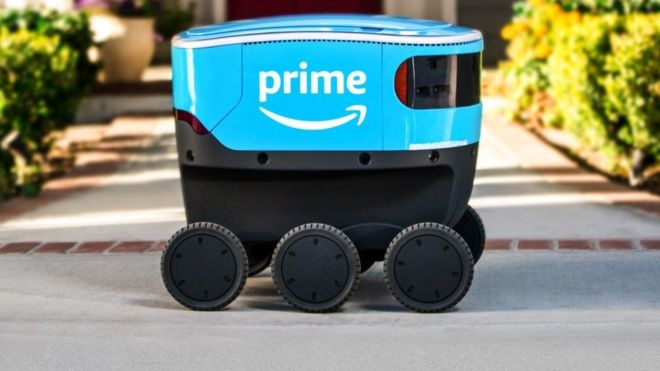 Scout, the delivery robot