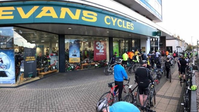 33f91fcbe9a Evans Cycles seeks new owner amid cash crunch - BBC News