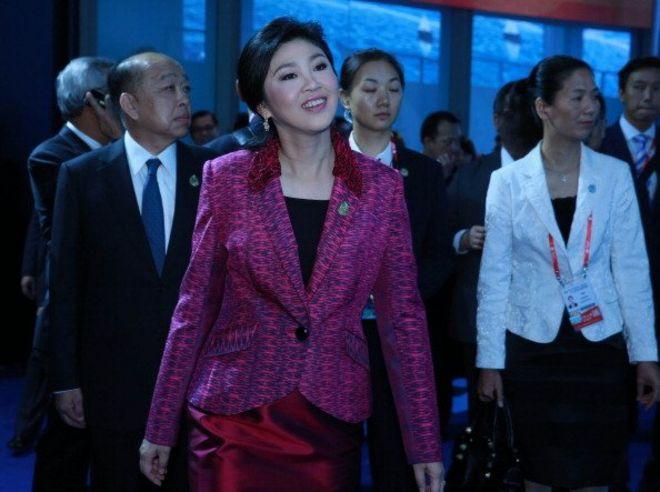 Yingluck ở TQ