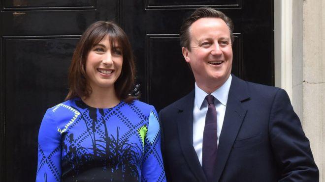 Samantha Cameron and David Cameron
