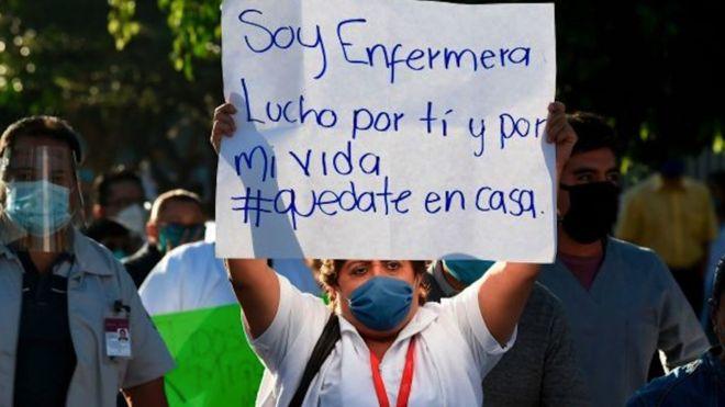 Enfermera en Mexico