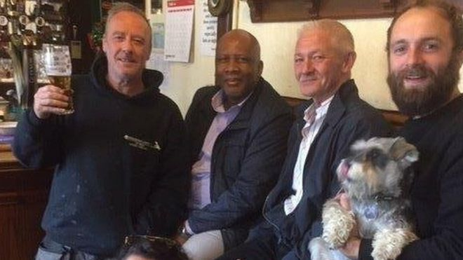Image result for name of pub where king letsie III met his old classmate