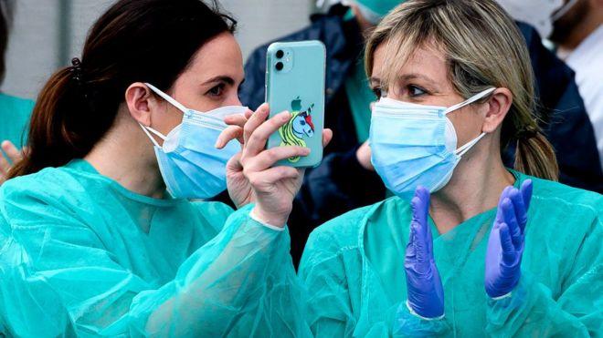 медсестры в испании