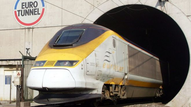 Power Fault Disrupts Eurotunnel Cross Channel Services Bbc News