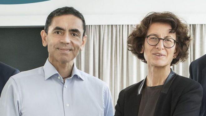 Ugur Sahin e Öezlem Türeci, casal fundador da BioNTech