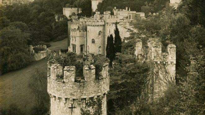 gwrych castle in conwy to get 15m revamp bbc news