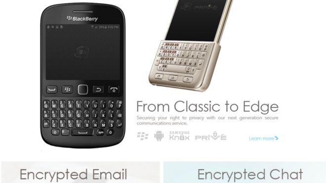 Cómo son los teléfonos BlackBerry modificados y ultraseguros que Phantom Secure le vendió al narcotráfico en México según el FBI