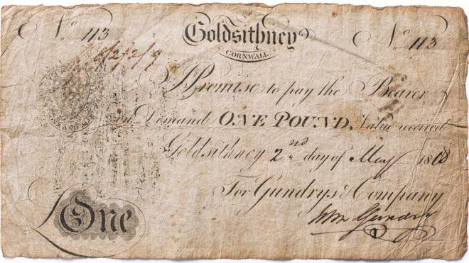 Корниш банкноты