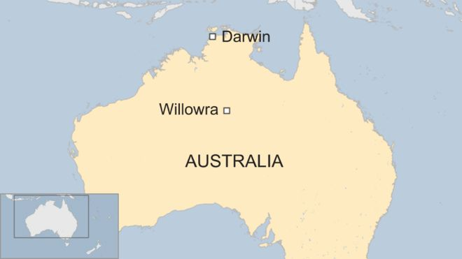 Where Is The Outback In Australia On A Map.Australia Deaths Family Found Dead Near Broken Down Vehicle In
