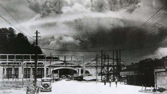 एटम बम, नागासाकी, द्वितीय विश्व युद्ध