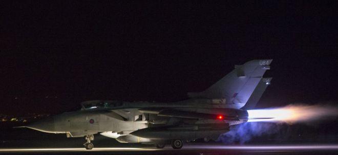 Aviones Tornado de la Real Fuerza Aérea británica