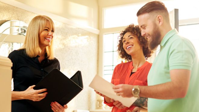 Estate agents and home buyers