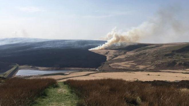 Marsden Moor fire: Cost to National Trust set to top