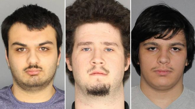 Four held over New York state 'plot' against Muslims - BBC News