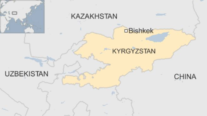 Kyrgyzstan airport threat called in 'to stop wife leaving ... on russia world map, latvia world map, myanmar on world map, sudan world map, pakistan on world map, spain world map, nepal world map, lebanon world map, laos world map, iceland world map, azerbaijan world map, sierra leone world map, liberia world map, philippines world map, lesotho world map, mongolia world map, romania world map, malaysia world map, uzbekistan world map, somalia world map,