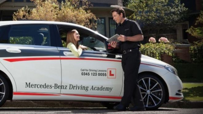 Publicity Shot Of Mercedes Benz Academy Service